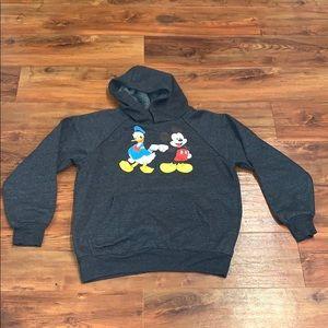 Kids Disney grey hoodie medium